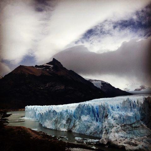 Lauréate de la résidence Hors les murs de l'Institut Français  Glacier Perito Moreno • Patagonie argentine | 2015