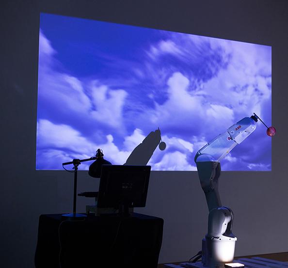 Performance réalisée par Sylvain Bitton, Mathilda Di Matteo, Ariane Robineau  ©photo : Jean Lepeudry