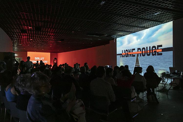 LA LIGNE ROUGE, de Proletograd à Staline S/Mer by François Désole / Alexiane Capitaine / Emma Pustienne  @photo: Rémy Deluze